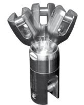 Anker Kettenverbinder Power Ball Edelstahl A4 D 6 mm