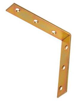 100 x 100 x 20 x 2,0 Stuhlwinkelverbinder verzinkt Stück