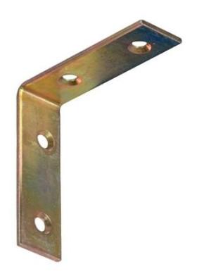 25 x 25 x 15 x 2,0 Stuhlwinkelverbinder verzinkt Stück